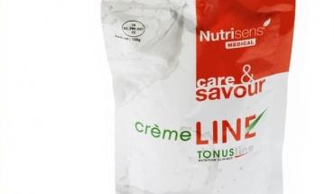 La Crèmeline en gourde de Nutrisens Medical