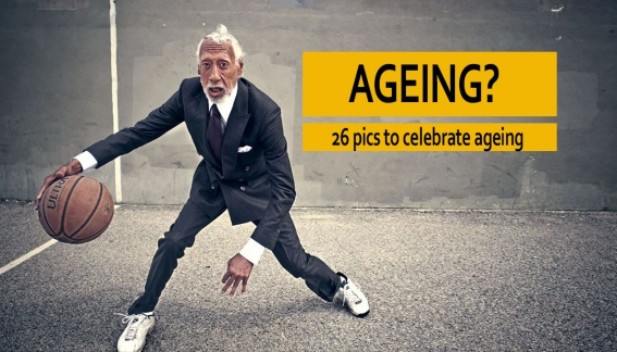 26 pics to celebrate ageing