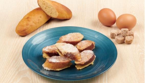 Recette pour enrichir : pain perdu avec du pain G