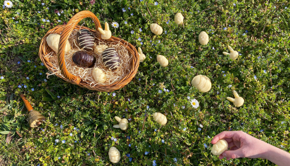 œufs de Pâques gélifiés