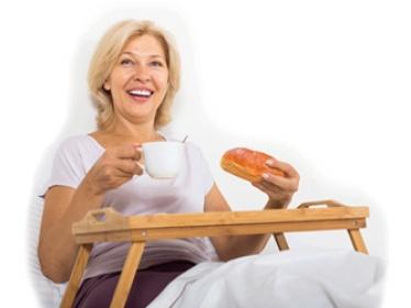 Les sujets âgés en bonne santé sont aussi à risque de malnutrition
