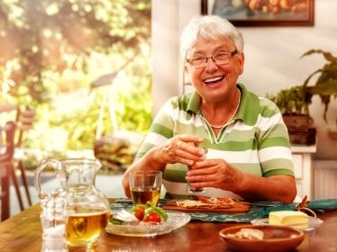 Sujet âgé : Prendre plaisir pour mieux manger